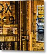 Trainworks.83427 Metal Print by Gary LaComa