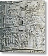 Trajan's Column Metal Print