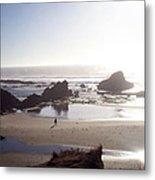 Tranquil Beach Metal Print