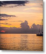 Tranquil Cruise Metal Print