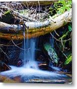 Tranquil Falls Metal Print