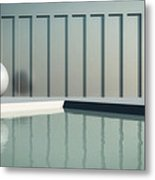 Tranquil Seclusion Metal Print