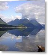 Tranquility Alouette Lake - Golden Ears Prov. Park, British Columbia Metal Print