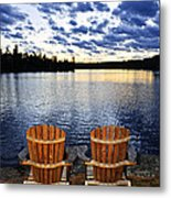 Tranquility At Sunset Metal Print by Elena Elisseeva