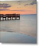 Tranquility At The Bayshore Metal Print
