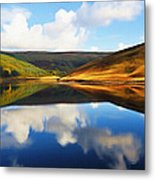 Tranquility Metal Print by Ayse Deniz