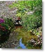 Tranquility Garden Metal Print
