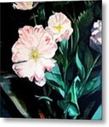 Tranquility In The Garden Metal Print