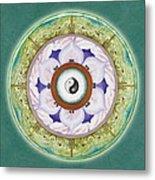Tranquility Mandala Metal Print