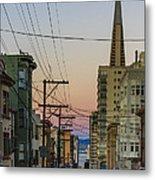 Transamerican Urbanism Metal Print