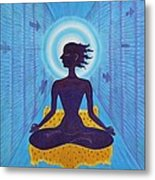 Transcendental Meditation Metal Print