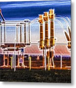 Transfer Of Power Metal Print