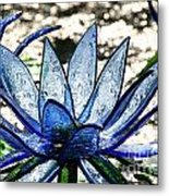 Translucent Blues Metal Print