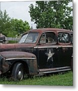 Transportation - Classic - Highway Patrol Metal Print