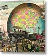 Transportation Metal Print by Gary Grayson