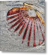 Trapped By The Tide Metal Print