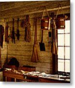 Trapper Supplies At The General Store Metal Print