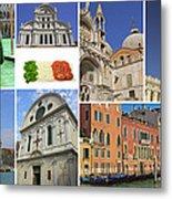 Travel To Venice  Metal Print
