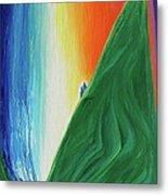 Travelers Rainbow Waterfall By Jrr Metal Print