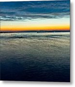 Traverse City Michigan In July Metal Print by Theodore Michael