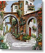 Tre Archi Metal Print by Guido Borelli