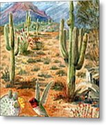 Treasures Of The Desert Metal Print