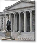 Treasury Department Washington Dc Metal Print