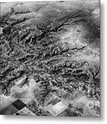 Tree Aerial Landscape V2 Metal Print