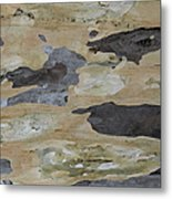 Tree Bark II Metal Print