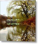 Tree By The River  Metal Print by Mark Ashkenazi