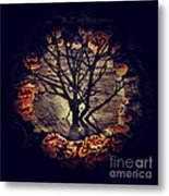 Tree Circle 2 Metal Print by Milliande Demetriou