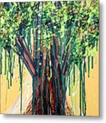 Tree Grit Metal Print