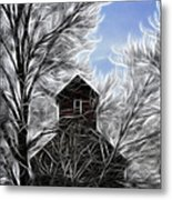 Tree House Metal Print