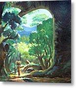 Tree Landscape Metal Print