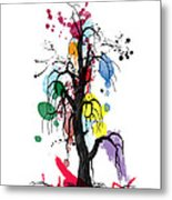 Tree Metal Print by Mark Ashkenazi