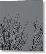 Tree Of Birds Metal Print