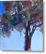Tree Of Color Metal Print