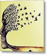 Tree Of Dreams Metal Print by Paulo Zerbato
