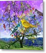 Tree Of Happiness Metal Print