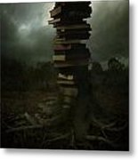 Tree Of Knowledge Metal Print by Fern Evans