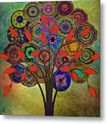 Tree Of Life 2. Version Metal Print