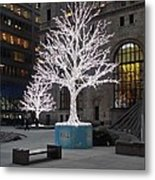 Tree Of Lights I Metal Print