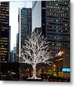 Tree Of Lights II Metal Print