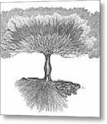 Tree Of Living Metal Print