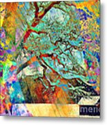 Tree Of Many Colors Metal Print