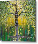 Tree Of Reflection Metal Print