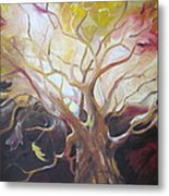 Tree Of Thought Metal Print