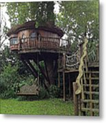 Tree Penthouse Metal Print