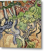 Tree Roots Metal Print by Vincent Van Gogh