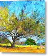Tree Series 64 Metal Print